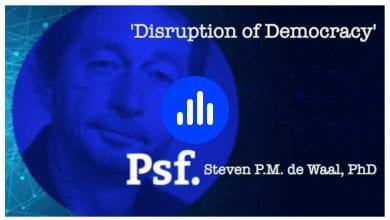 Photo of Steven de Waal on the (threatening) Disruption of Democracy – podcast