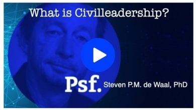 Photo of Steven de Waal about Civil Leadership