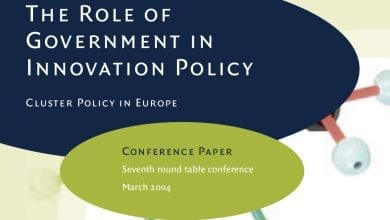 Photo of EEN 7: The Role of Government in Innovation Policy