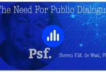 Photo of The Need for Public Dialogue – podcast